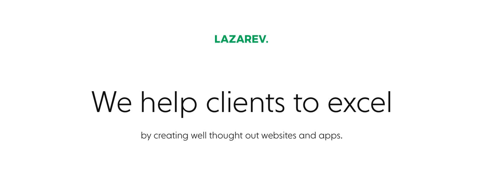 Lazarev.Agency
